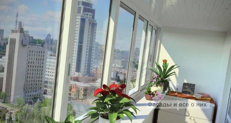 Алюминиевые раздвижные окна фото