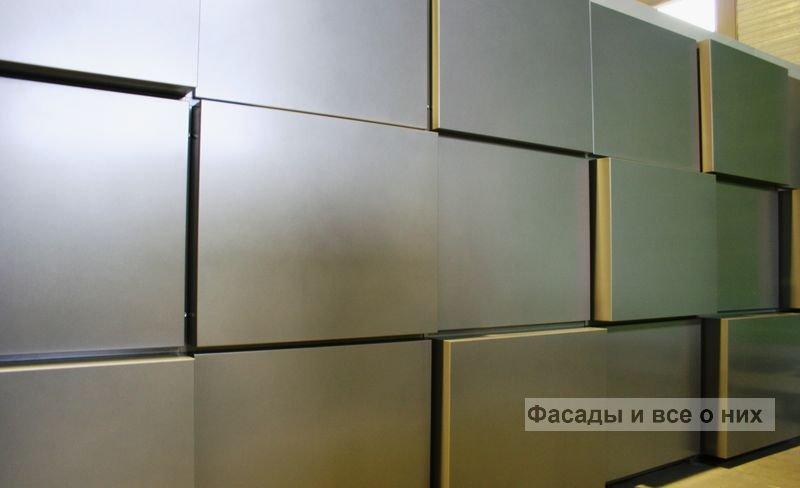 Фасадные кассеты фото