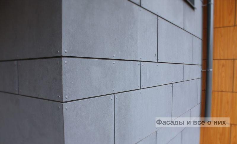 Фиброцементные панели фото