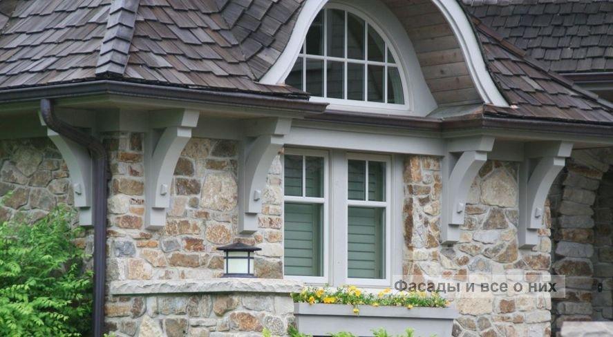 Каменные фасады фото