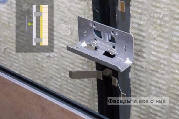 Монтаж вентилируемых фасадов композитные панели