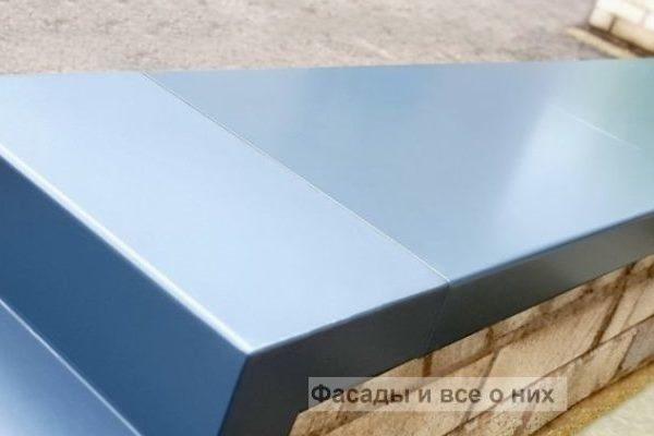 парапетная крышка из бетона купить