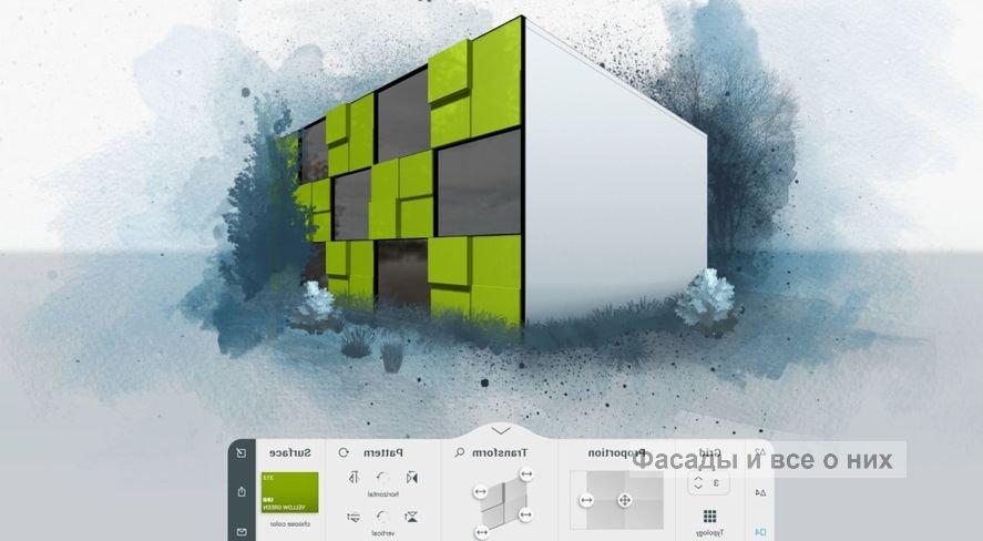 Проектирование фасадов фото